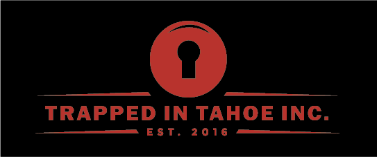 Trapped in Tahoe new logo Red And Black